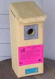bird house plans downy woodpeckers